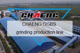 CHAENG GGBS grinding production line